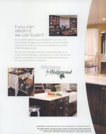 Blanc Canvas Interiors » Kitchens by Wedgewood
